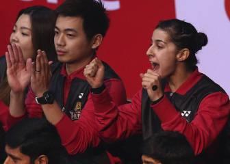 Carolina Marín, premiada por la Comunidad China en España