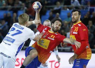 España - Macedonia del Mundial Balonmano: resumen (29-25)