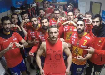 El gran gesto de los Hispanos tras su victoria ante Macedonia