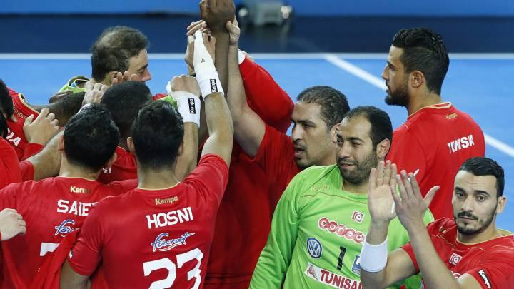 43-34. La goleada de Túnez a Angola le resultó insuficiente