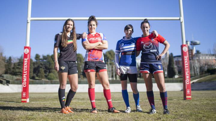 Madrid da impulso a la Liga Iberdrola de rugby femenino