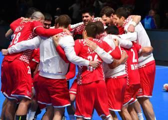 Croacia, rival de España en cuartos tras batir a Egipto