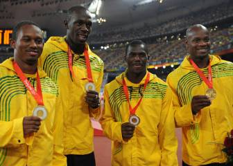 Bolt loses gold medal as relay partner Carter caught doping
