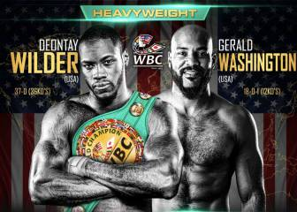 Wilder, con rival para su regreso: el invicto Washington