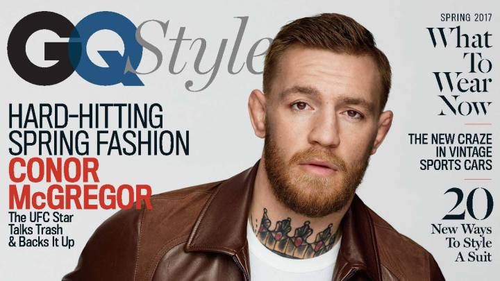 McGregor se luce en GQ y no quiere protestas contra Trump