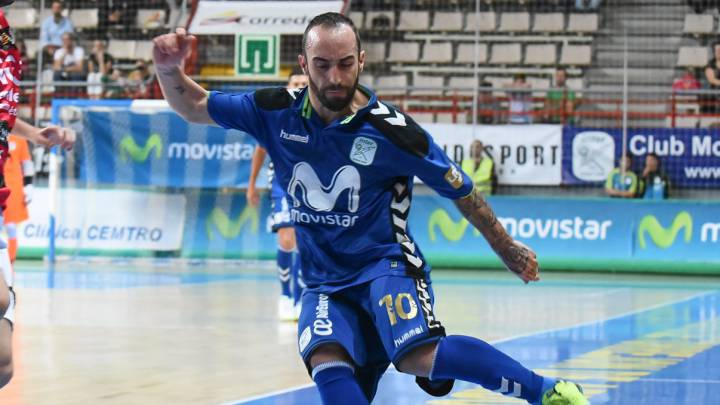 Ricardinho con el Inter Movistar.