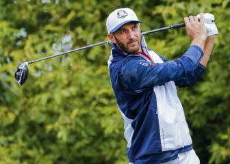Dustin Johnson toca el cielo