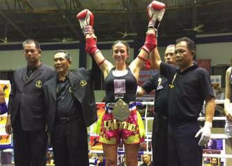 Una guardia civil, campeona del mundo de muay thai