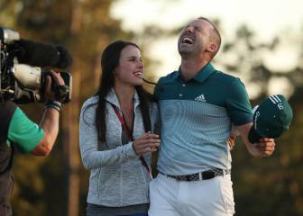 Sergio García celebrates maiden major: in pictures