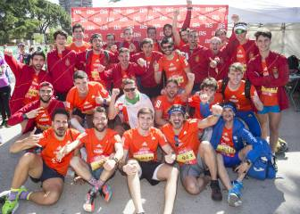 The EDP Rock'n'Roll Madrid Marathon in images