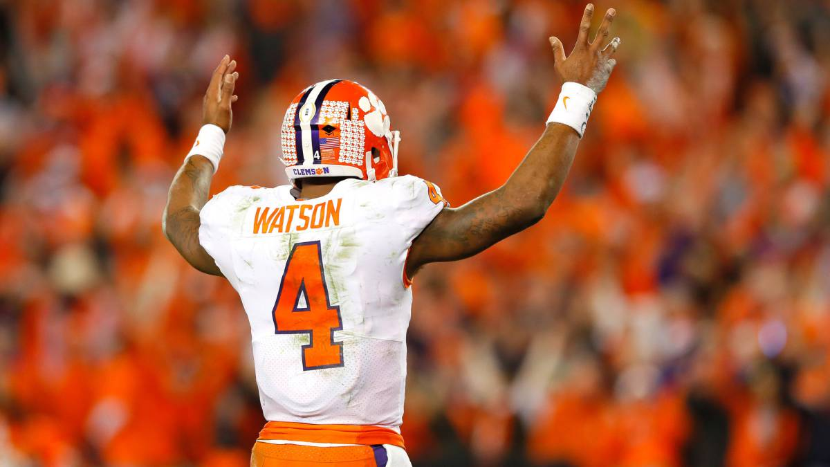 New Texans QB Deshaun Watson willing to 'learn from veteran guys'