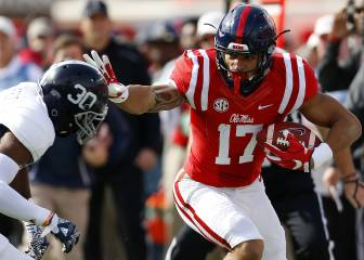 Evan Engram, un tight end que es más un receptor grande