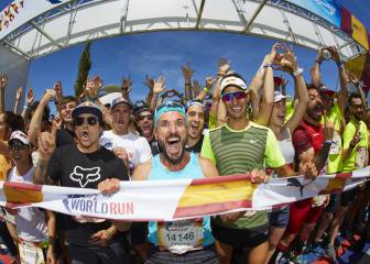 1.700 corredores disputaron la Wings for Life Run Valencia