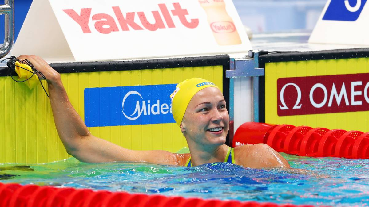 Kristel Köbrich fue sexta en final de 1.500 metros libres en Mundial de Hungría