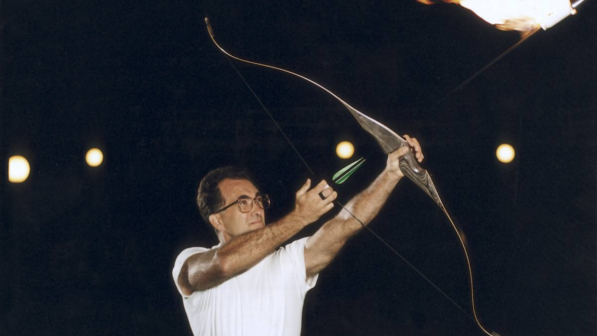 Juegos Olimpicos Barcelona 92 La Flecha Magica Del Ganador De Los