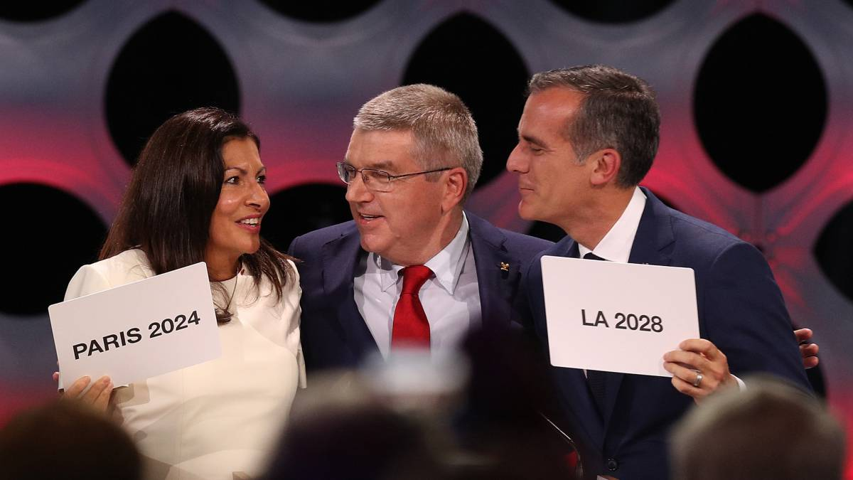 Paris Los Angeles confirmed as Olympic hosts