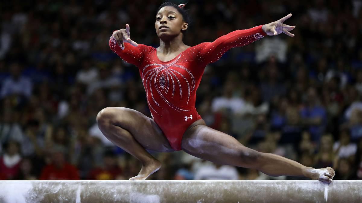 Resultado de imagen para Estados Unidos gana el título por equipos femenino en Mundial de Gimnasia 2018