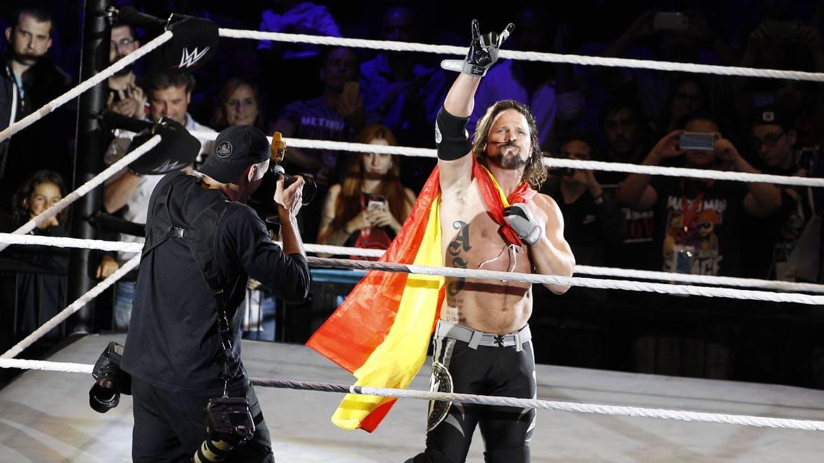 AJ Styles consiguió su segundo Campeonato de WWE