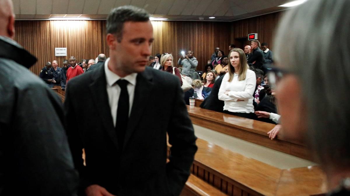 Elevan a 13 años y 5 meses la pena de cárcel del atleta sudafricano Oscar Pistorius