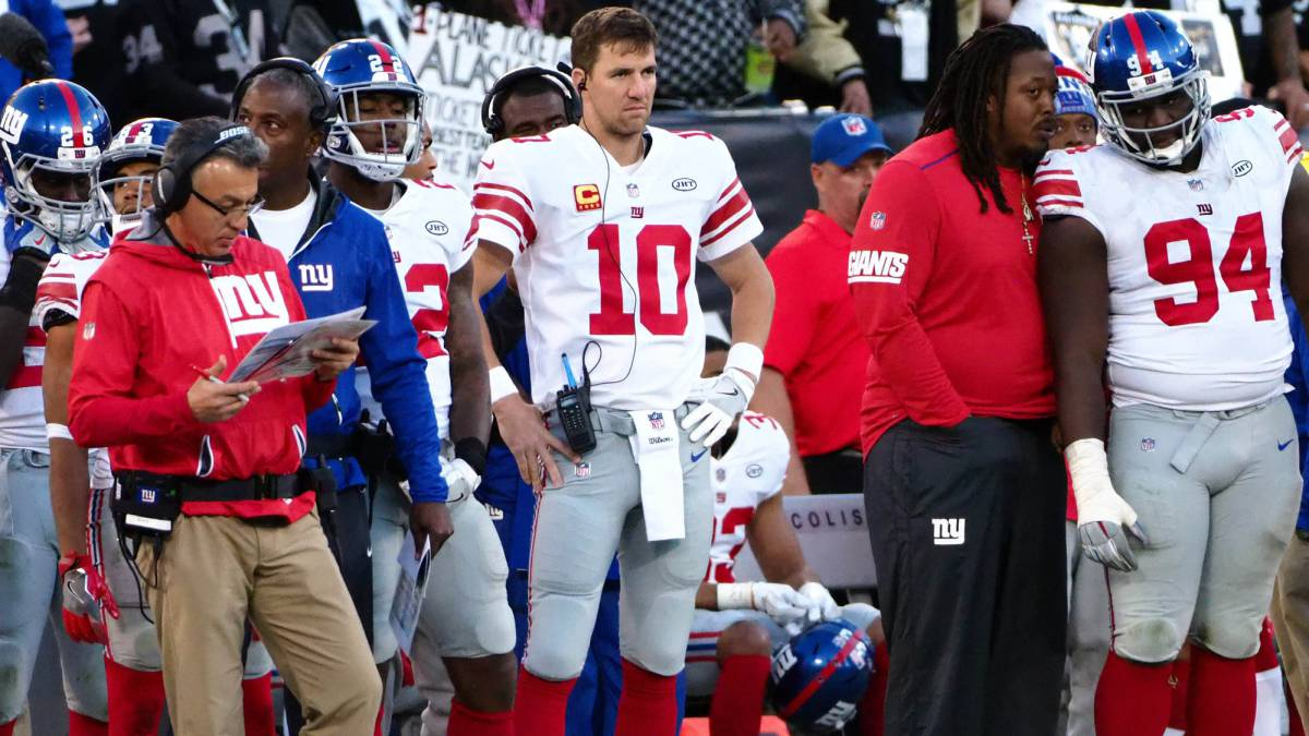 New York Giants despiden a su entrenador en jefe