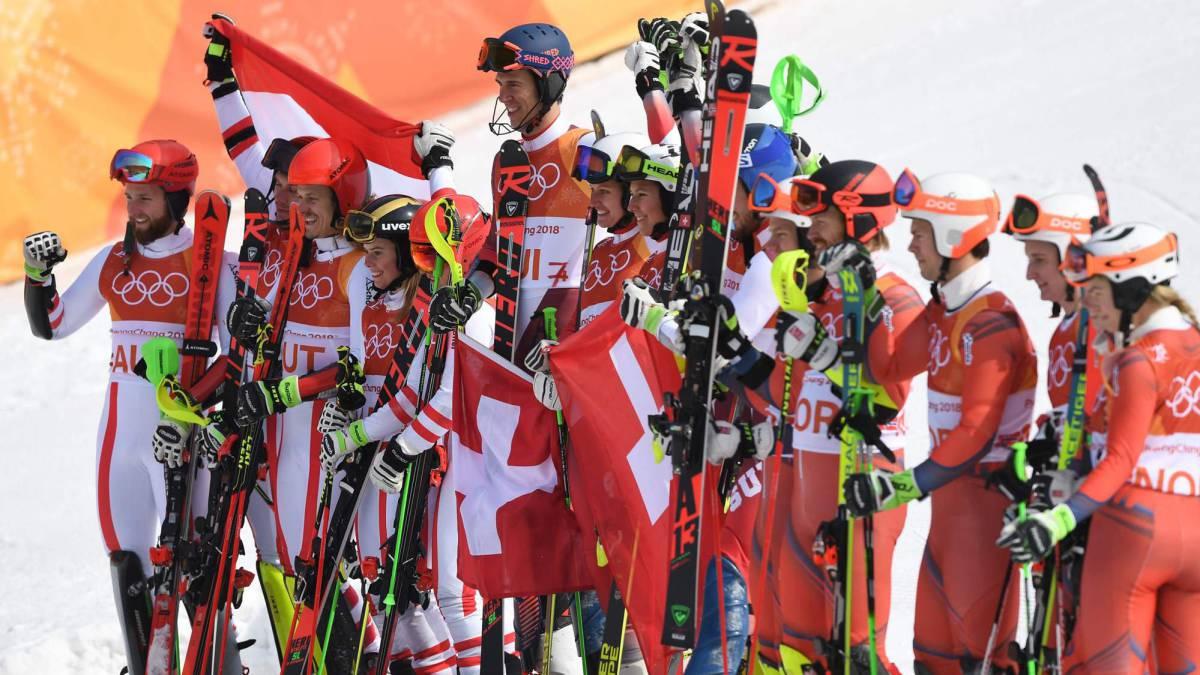 Suiza logra el oro por equipos tras vencer a Austria por 3-1 - AS.com