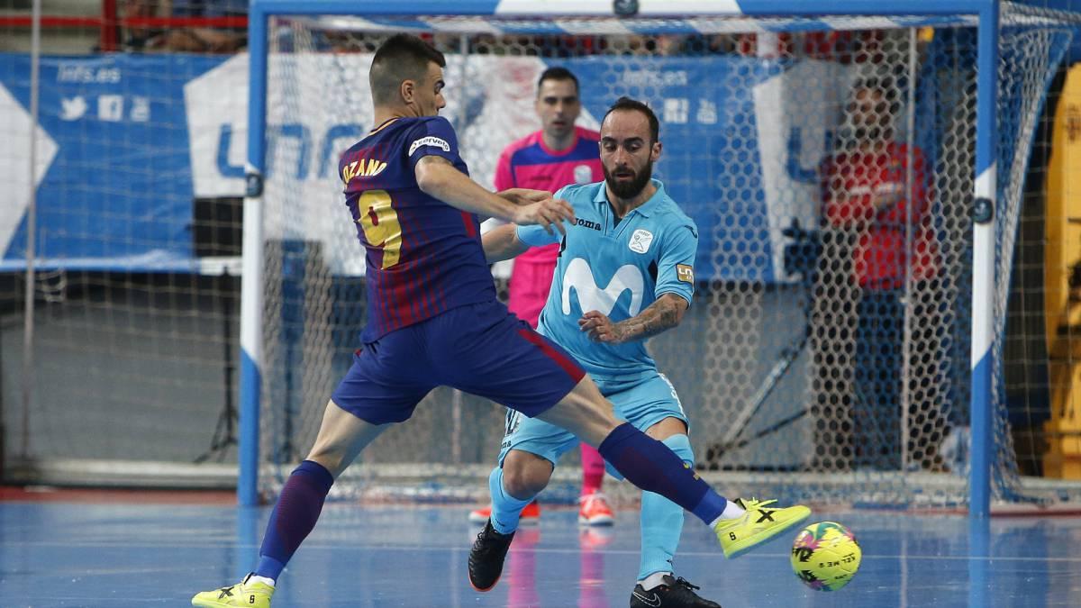 Inter Movistar - Barcelona en directo  Fútbol Sala f80ad82044386