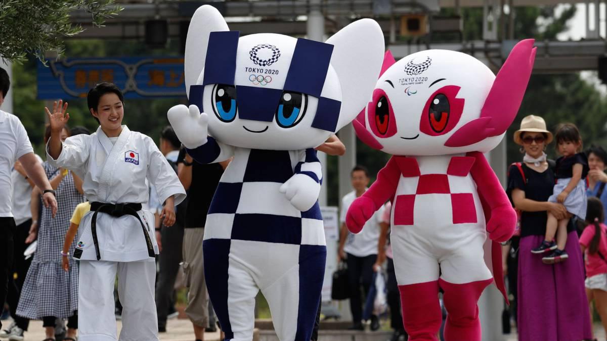 Tokio 2020 presenta mascotas de Juegos Olímpicos