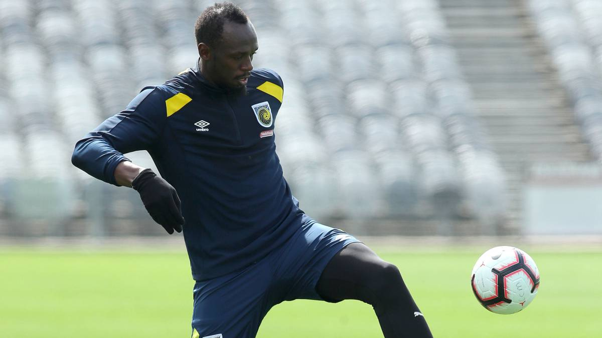 Atletismo  Usain Bolt to make footballing debut in A-League on Friday -  AS.com 2011410435