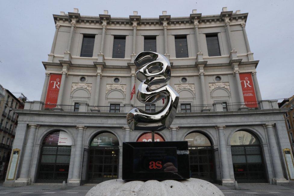 Las mejores imágenes de la 14ª entrega de los Premios As del Deporte que ha tenido lugar en el recinto del Teatro Real de Madrid.