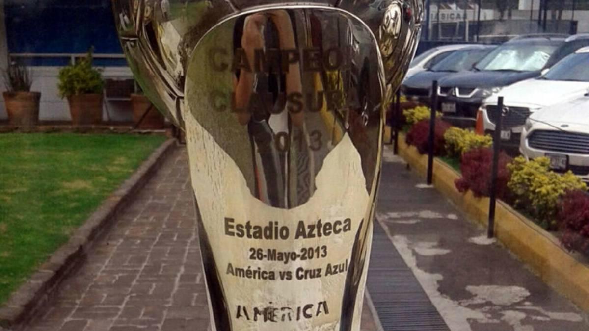 Resultado de imagen para Trofeo con error america
