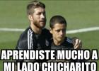 Los Memes de la falla del penalti de Chicharito
