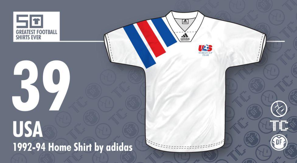 ac1f2592649b7 Las 50 camisetas más bonitas en la historia del fútbol - AS México
