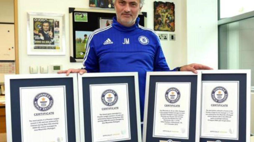 Fútbol Internacional: Mourinho, Cristiano y Lampard al libro de Recórd Guinness - AS México