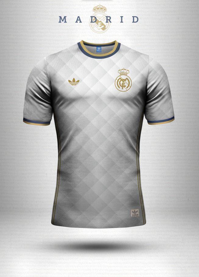 7ca68dd305 El diseñador Emilio Sansolini bosquejó las camisetas de diferentes equipos  con sus actuales marcas deportivas