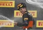 Podio de justicia divina para Checo Pérez en el GP de Rusia