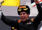 """Checo: """"Estoy muy feliz, es genial volver al podio"""""""