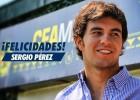 América y el Tri felicitan a Checo Pérez en Twitter
