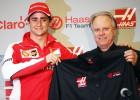 Así fue la presentación de Esteban Gutiérrez con Haas
