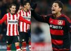 Guardado, Moreno y Jiménez siguen adelante en Champions
