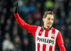 Asistencia de Guardado para el empate del PSV ante el Roda