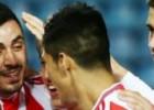Alan Pulido jugó tres minutos en victoria del Olympiakos