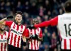 Guardado y Moreno guían al PSV; Fabián debuta en grande