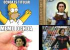 Memo Ochoa es titular con el Málaga y los memes lo saben