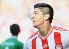 Alan Pulido jugó de titular y respondió con un gol