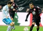 Marco Fabián y el Eintracht firmaron un empate soso