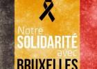 Mexicanos solidarizan con víctimas en Bruselas