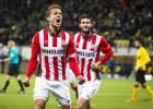 El PSV sigue aferrado a la liga; Moreno jugó los 90'
