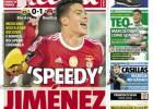 Raúl Jiménez conquista a la prensa deportiva en Portugal