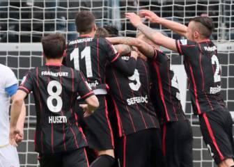 Marco Fabián volvió a la titularidad y el Eintracht triunfó