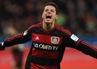 Con Chicharito, Leverkusen clasifica a la Champions 16-17